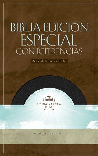 9781558193710: RVR 1960 Biblia con Referencias, negro piel fabricada (Spanish Edition)
