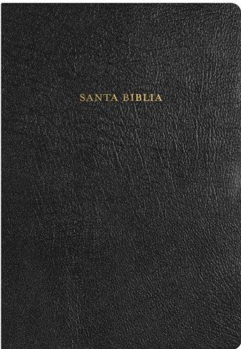 9781558195585: RVR 1960 Biblia de Estudio Arco Iris, negro piel fabricada con índice (Spanish Edition)