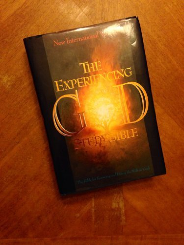 9781558195868: Experiencing God Study Bible: New International Version (Niv), Black Bonded Leather Concordance, Words of Christ in Red