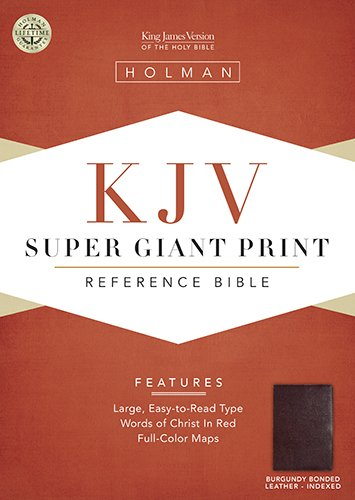King James Version Super Giant Print Reference