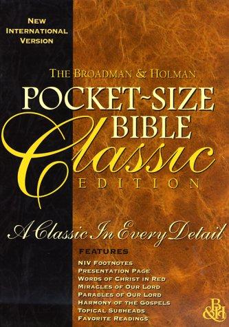 9781558196711: Pocket Size Bible Classic Edition (Black)