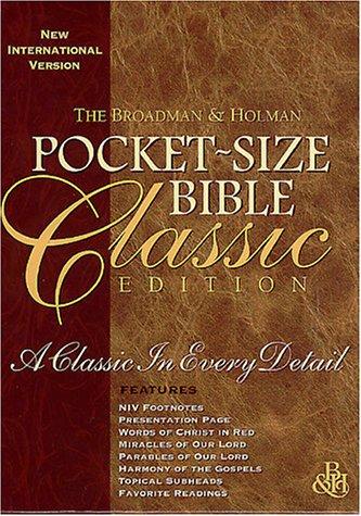 9781558196759: Pocket-Size Bible-NIV-Classic (International Version)