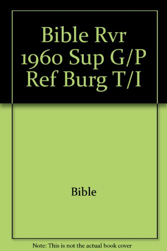 9781558196834: Biblia Letra Super Gigante Con Referencias/Super Giant Print Reference Bible (Spanish Edition)