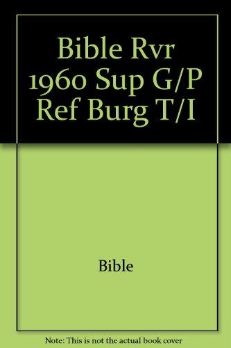 9781558196834: Biblia Letra Super Gigante Con Referencias/Super Giant Print Reference Bible (Spanish Edition)