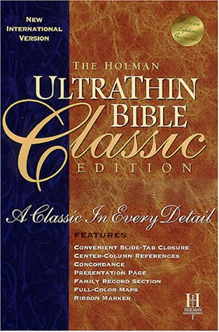 9781558197664: Ultrathin Bible-NIV-Classic (New International Version)