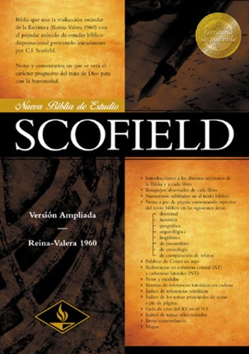 9781558198012: RV 1960 New Scofield Study Bible (Black Bonded Leather - Indexed) (Spanish Edition)