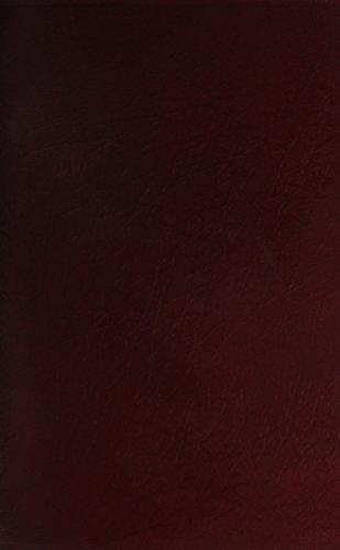 9781558198159: KJV Giant Print Reference Bible, Burgundy Genuine Leather Indexed (King James Version)