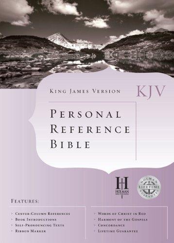 9781558198241: KJV Cornerstone Personal Reference Bible (Black Bonded Leather) (King James Version)