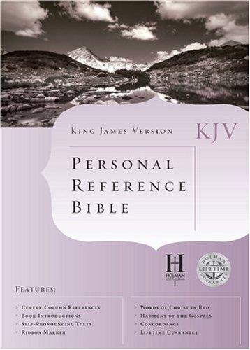 9781558198258: KJV Cornerstone Personal Reference Bible (White Bonded Leather) (King James Version)