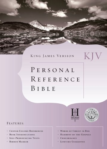 KJV Cornerstone Personal Reference Bible (Burgundy Bonded: Editor-Holman Bible Editorial