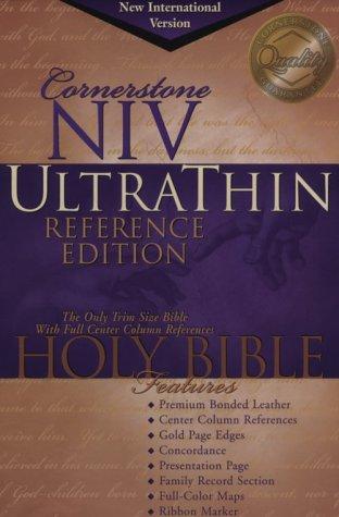 Cornerstone Ultrathin Reference Bible: Bible