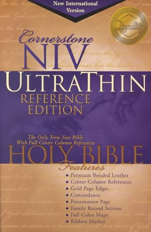The Holy Bible Cornerstone New International Version