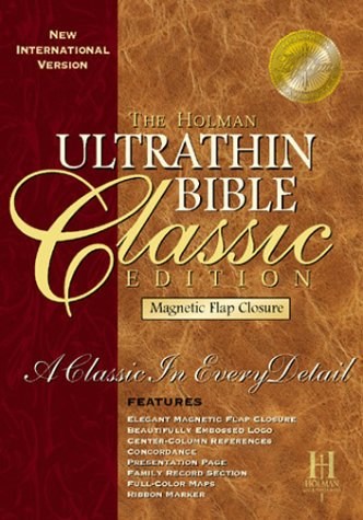 9781558198845: Ultrathin Bible: With Magnetic Closure