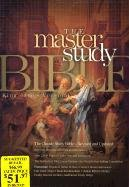 9781558198975: KJV Master Study Bible, Black Genuine Leather Indexed