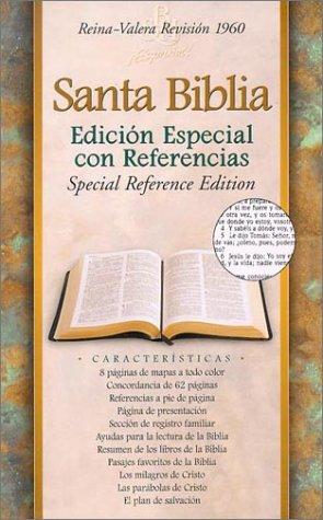 9781558199071: Biblia/Bible: Biblia Edicion Especial Con Referencias Rvr 1960 Rojizo, Piel Fabricada, Rvr 1960 Special Reference Bible Burgundy Bonded Leather (Spanish Edition)