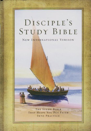 9781558199484: Disciple's Study Bible New International Version