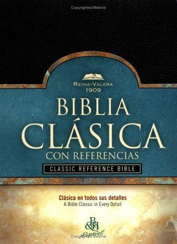 9781558199545: RV 1909 Biblia Clásica con Referencia, negro imitación piel (Spanish Edition)