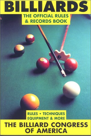 9781558211896: Billiards: The Official Rules and Records Book