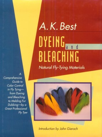 9781558212145: Dyeing and Bleaching Natural Fly-Tying Materials