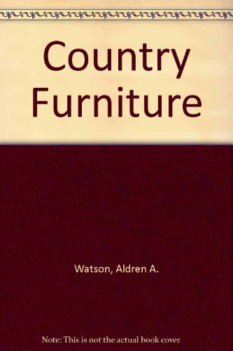 9781558212862: Country Furniture