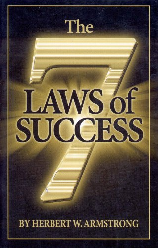 9781558252332: The seven laws of success