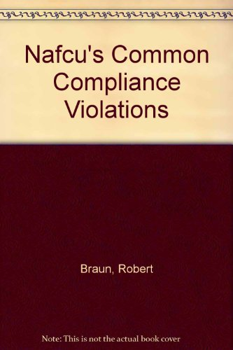 9781558271647: Nafcu's Common Compliance Violations