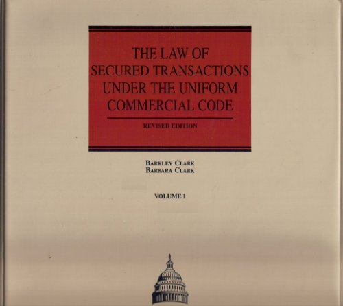 9781558274792: The Law of Secured Transactions Under the Uniform Commercial Code