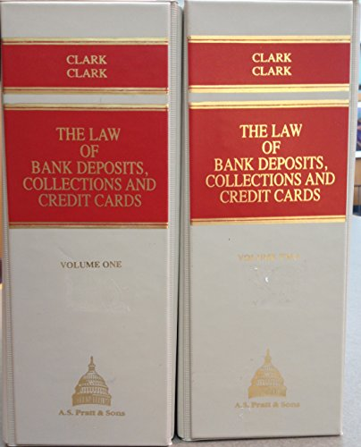 9781558277052: The Law of Bank Deposits, Collections, and Credit Cards