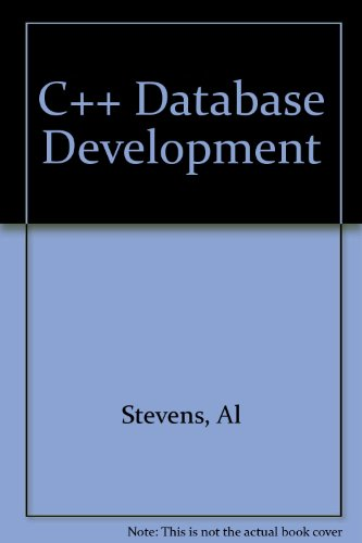 9781558282155: C++ Database Development