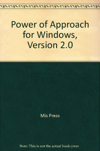 Power Of...Approach for Windows (1558282661) by Charles Siegel