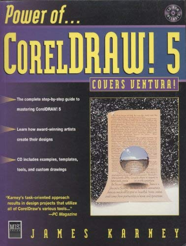 9781558283763: Power of Coreldraw 5 for Windows
