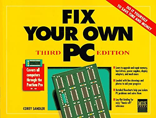 9781558284227: Fix Your Own PC (3rd Edition)