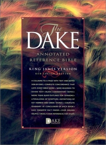 9781558290686: The Dake Annotated Reference Bible: King James Version