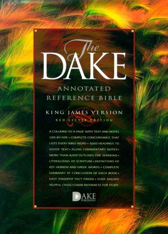 9781558290716: Dake Annotated Reference Bible-KJV