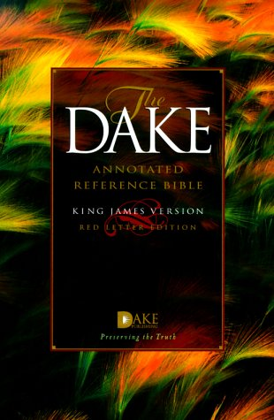 9781558290730: Dake Annotated Reference Bible-KJV