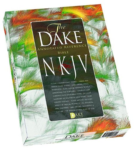 9781558290891: Dake's Annotated Reference Bible: New Kings James Version, Black Leathersoft