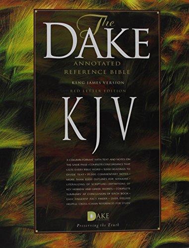 9781558291805: Dake Annotated Reference Bible-KJV
