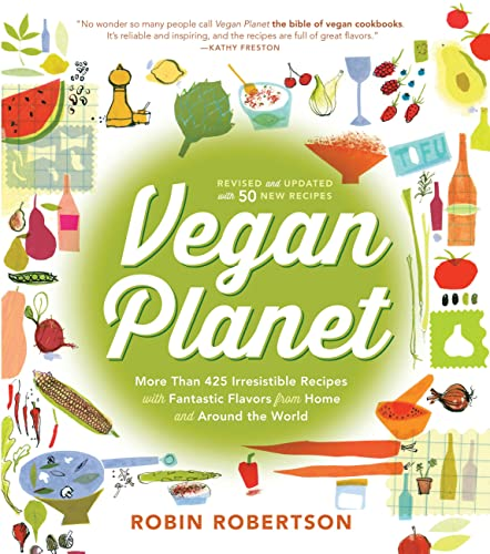 9781558328310: The Vegan Planet, Revised Edition: 425 Irresistible Recipes With Fantastic Flavors from Home and Around the World