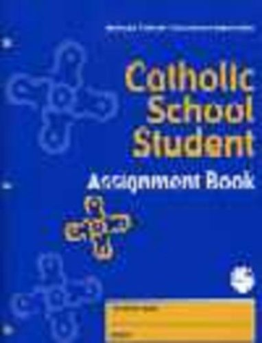 Catholic School Student Assignment Book: NCEA Department of Elementary Schools