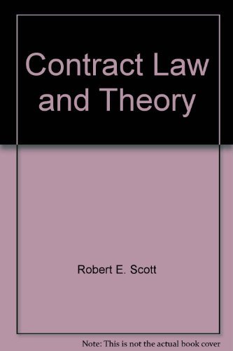 9781558340701: Contract law and theory (Contemporary legal education series)
