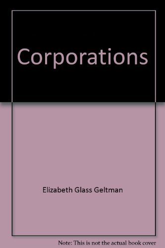 9781558342033: Corporations: Environmental cases and materials (Contemporary legal education series)