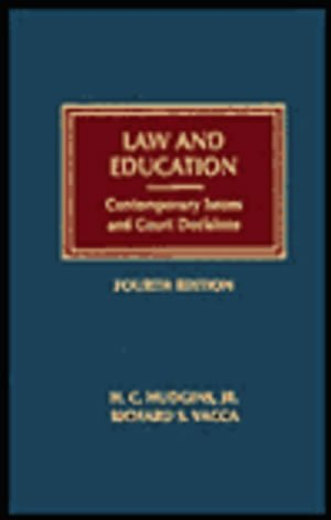 9781558342705: Law and Education: Contemporary Issues and Court Decisions (Contemporary Legal Education Series)