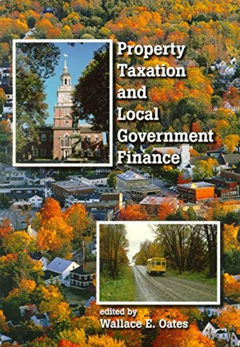 9781558441446: Property Taxation and Local Government Finance