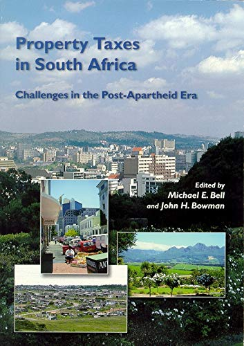 9781558441507: Property Taxes in South Africa: Challenges in the Post-Apartheid Era