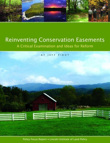 9781558441606: Reinventing Conservation Easements: A Critical Examination and Ideas for Reform (Policy Focus Reports)
