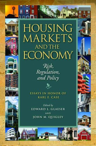 9781558441842: Housing Markets and the Economy: Risk, Regulation, and Policy