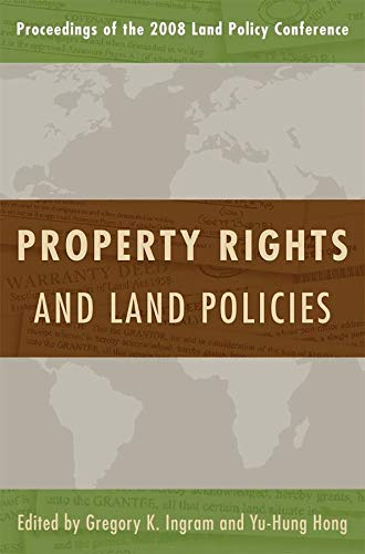 9781558441880: Property Rights and Land Policies (Land Policy Series)