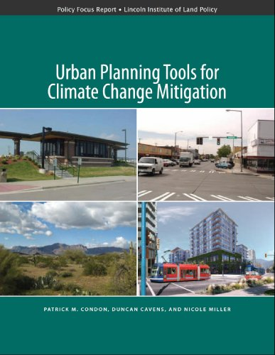 9781558441941: Urban Planning Tools for Climate Change Mitigation (Policy Focus Reports)