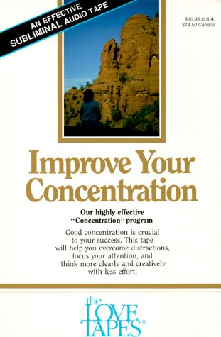 9781558480056: Improve Your Concentration (Love Tapes)