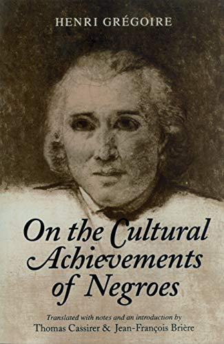 9781558490321: On the Cultural Achievements of Negroes